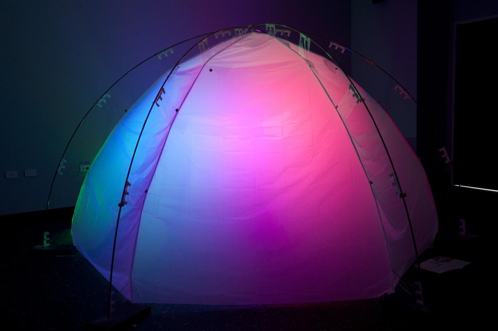 Dome Tent Build